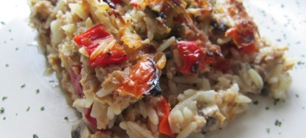Rice Coconut Vegetable Gratin Recipe