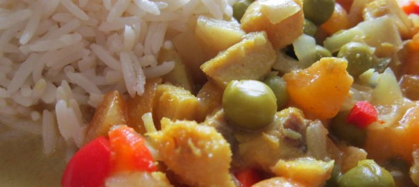 Fish Curry Fruity
